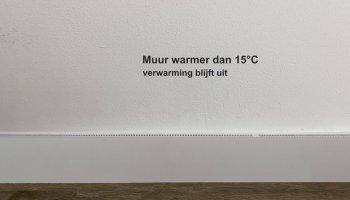 Carebrick anti condensatie systeem uit